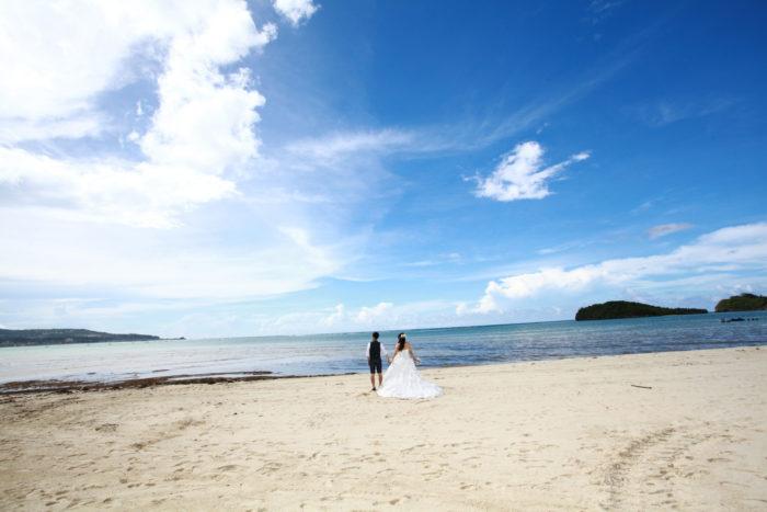 グアム・海外ウェディング・砂浜