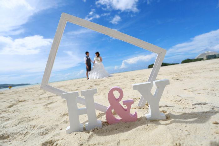 グアム・結婚式・砂浜