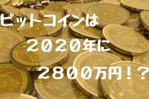 ビットコイン2020年