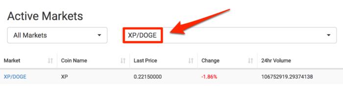 CoinExchange-xp