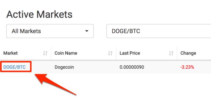 CoinExchange-doge