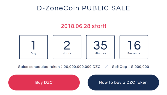D-ZONE COIN ICO